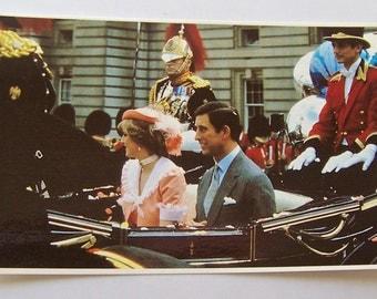 Vintage Postcard Royal Wedding 1981 Royal Family Unused Postcard