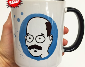 SALE - Tobias Funke mug with minor defects detailed on the pictures