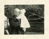 "Vintage Photo ""Grandpa Jack"" Snapshot Photo Old Antique Photo Black & White Photograph Found Paper Ephemera Vernacular - 84"