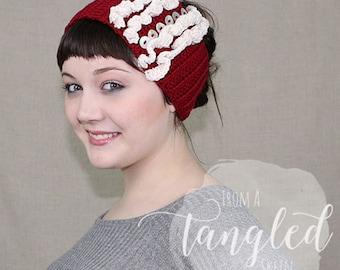 Crochet Earwarmer / Headwrap / Headband / THE STELLA WARMER