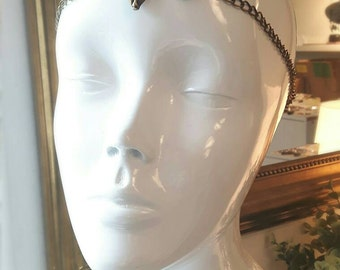 Deer chain headpiece
