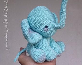 Elephant Amigurumi Crochet Pattern PDF - Toy elephants crochet pattern - Instant DOWNLOAD