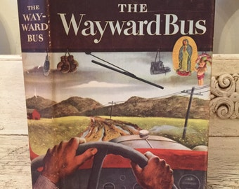 Vintage Copy of The Wayward Bus - John Steinbeck - 1947