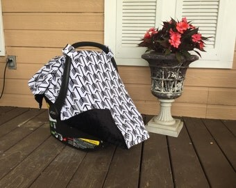 SALE | Minky Carseat Canopy & Strap Set | Free Shipping | Lolly Gags