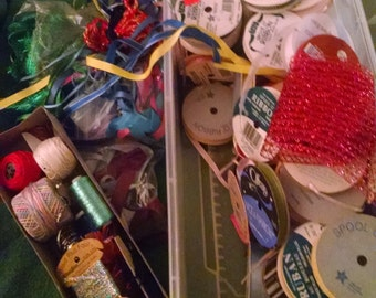 Ribbons Cording Supplies for Crafts Weaving Couching Trims Embellishment