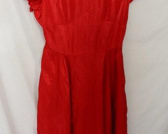 1940s Cherry Bomb Dress