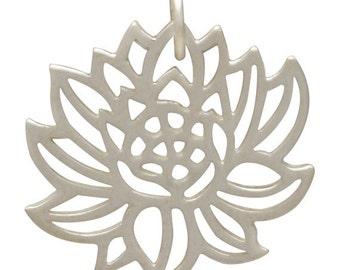 Blooming Lotus Charm