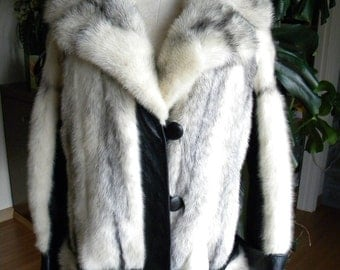 Fantastic cross mink fur stroller / coat / jacket