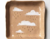 RAINY DAY square tray *reserved for carey