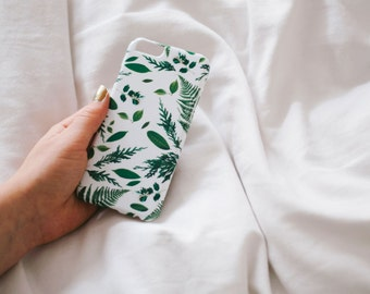 Leaf iPhone Case - Genuine Leaf, Fern and Foliage iPhone 6 Case - iPhone 6 case - Hard Plastic, Slim Fit