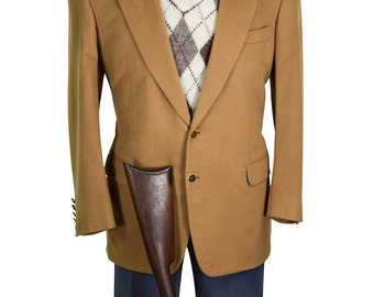 Brioni Italian Made 42S 100% Luxurious Cashmere Gentry Double Vent Sport Coat