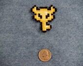 Legend of Zelda Boss Key Iron On Patch