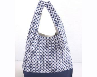 Batik Canvas Shopper Tote. Leather Shopper Tote. Shopper Tote Bag. Shopping Bag. Canvas Tote Bag. Leather Tote Bag. Reusable Grocery Bag.