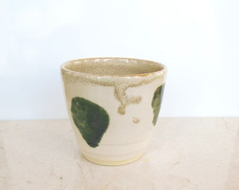 Pottery Tea Cup. Coffee Cup. Espresso Cup.