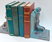 Zombie Bookends - Bronze