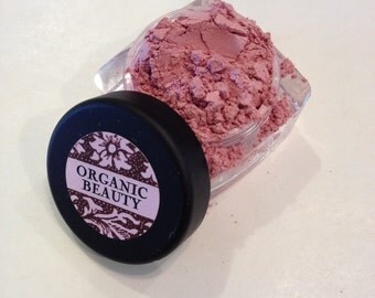 COTTON CANDY Organic Eye Shadow Pretty Soft Pink Shade Beauty Vegan Cruelty Free