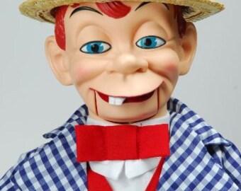 Vintage Ventriloquist Dummy Mortimer Snerd Boxed