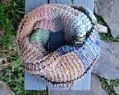 Knit Blanket Scarf #1