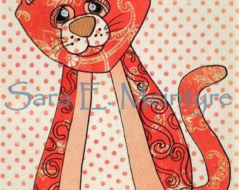 Polka Dot Kitty
