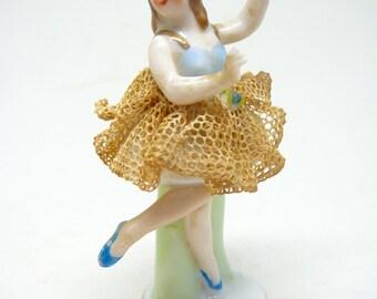 Miniature Ballerina Figurine Occupied Japan