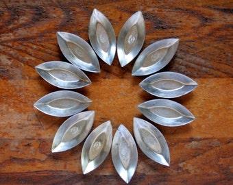 Tartlet tins, France, mini tart tins, patisserie molds, set of twelve