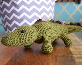 Alastair Alligator Amigurumi Plushie Reptile