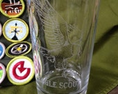 Eagle Scout Glass - Laser Engraved Drinking Glass