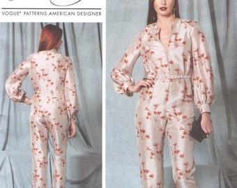 NEW Rachel Comey jumpsuit pattern -- Vogue American Designer 1523