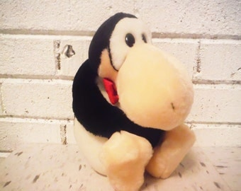 Vintage Opus plush doll penguin bloom county berkeley breathed washington post 1985 geekery cartoon funny papers