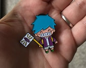 Kawaii Porter Robinson Fan Boy Pin