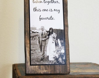 Father of the Bride Sign Gift - Parent Gift - Quote sign