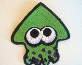 Splatoon Inkling, Octoling, and Splat Patches