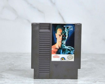 Vintage Nintendo Game Terminator 2 Judgement Day Bits Studios 1991, Video Game, Console Game, Vintage Game, Vintage Nintendo, Vintage NES