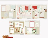SALE Printable Journaling Cards Christmas Bundle INSTANT DOWNLOAD Project Life Cards