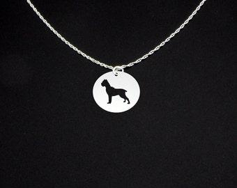 Cane Corso Necklace cropped - Cane Corso Jewelry - Cane Corso Gift