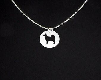 Finnish Spitz Necklace - Finnish Spitz Jewelry - Finnish Spitz Gift