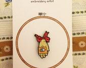 The Robber Bride enamel pin