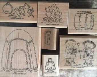Stampin' Up! Campout, set of 7