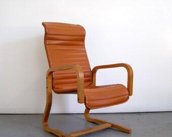 Thonet High Back Lounge - Mid Century