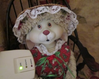 Haunted Doll BECKY, Spirit Doll, Christmas Rabbit Doll, Paranormal, Spirits, SAFE, Ghost, Active Spirit, Porcelain Doll, Metaphysical