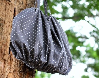 Cotton canvas tote bag / Handbag / Shoulder bag / Fashion bag