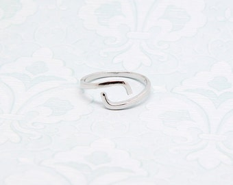 GEMINI zodiac ring made in sterling 925 silver, adjustable size