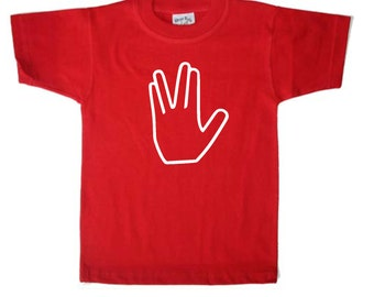 Vulcan Hand Salute Star Trek shirt
