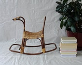 Mid Century Swedish Rocking Horse