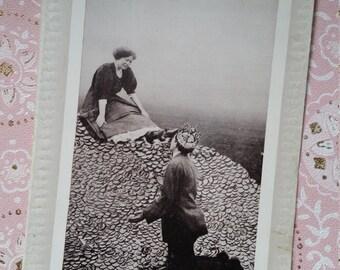 Humorous Antique Romantic Post Card | Unused