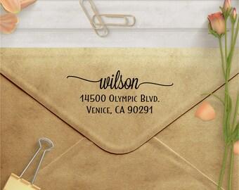 Custom Address Stamp - Personalized Self Inking Return Address Stamp