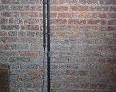Industrial Floor Lamp - Copper Shade - Industrial Furniture - Machine Age - Modern Floor Light - Reading Lamp