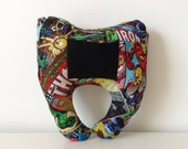 Marvel Comics Superhero Tooth Fairy Pillow, Comic Book Pillow, Kids Decor, Boys Room, Spiderman, Ironman, The Hulk, Thor,