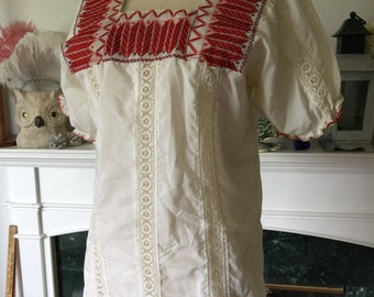 70s Mexican Peasant Blouse
