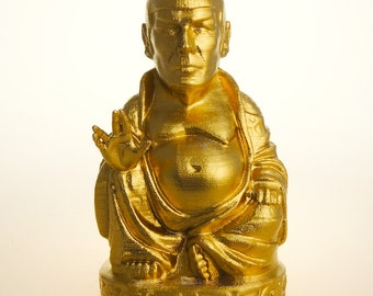 Star Trek - Spock Buddha (Brilliant Gold)